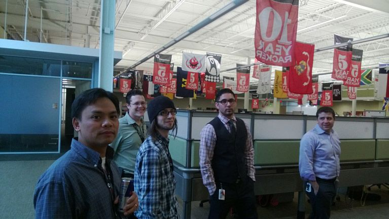 GC Visits Rackspace