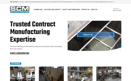 State Contract Manufacturing