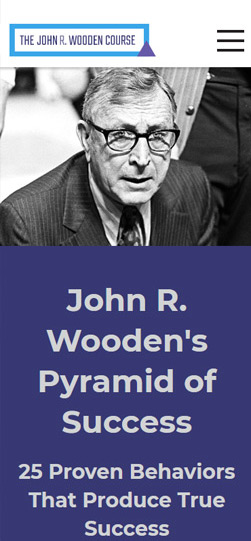 The John R. Wooden Course